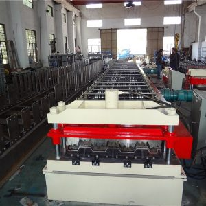 floor decking panel roll forming machine