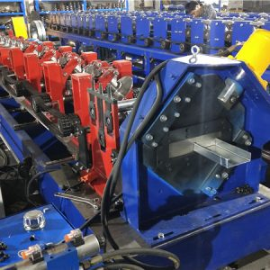 lip channel roll forming machine