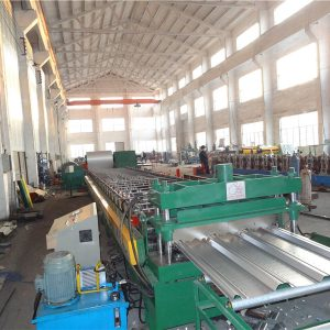 metal deck roll forming machin